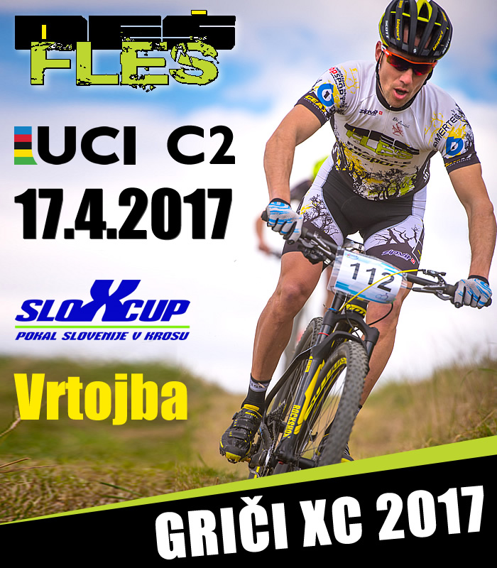 GRIČI XC 2017 UCI C2  International MTB Race